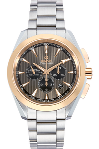 Seamaster Aqua Terra Co-Axial Chronograph Rose Gold and Stainless Steel Automatic