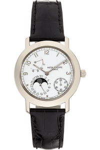 Moon Phase Power Reserve Reference 5055 White Gold Automatic