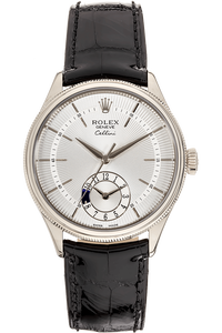 Cellini Dual Time White Gold Automatic