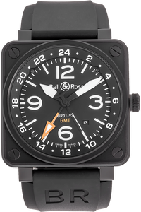 BR 01-93 GMT PVD Stainless Steel Automatic