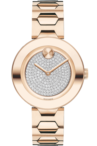 Bold Pave Dial Watch