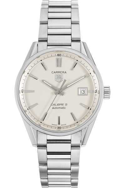 fb07c73daa6 Images. Carrera Calibre 5 Stainless Steel Automatic