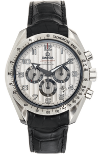 Speedmaster Broad Arrow Co-Axial Chronograph Stainless Steel Automatic