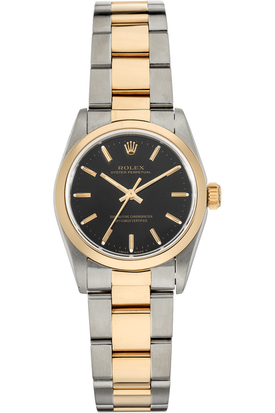 Oyster Perpetual Yellow Gold and Stainless Steel Automatic