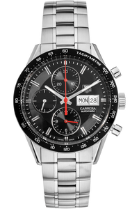 Carrera Day Date Chronograph Stainless Steel Automatic
