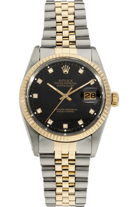 Datejust Circa 1979 Yellow Gold and Stainless Steel Automatic
