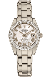 Datejust Pealmaster  White Gold Automatic