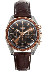 Speedmaster Broad Arrow Co-Axial Rose Gold and Stainless Steel Automatic