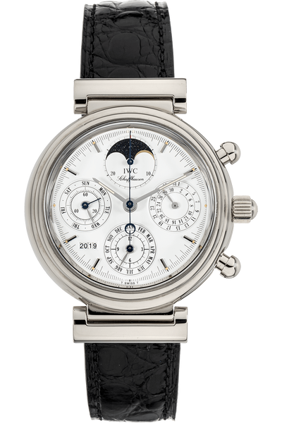 Da Vinci Perpetual Calendar Chronograph White Gold Automatic