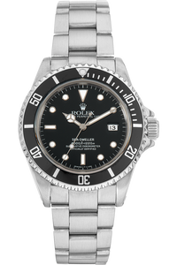 Sea-Dweller Tritium Dial, Lug Holes Stainless Steel Automatic