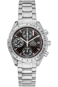 Speedmaster Date Michael Schumacher Limited Edition Stainless Steel Automatic