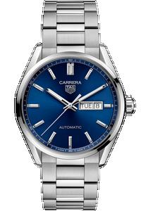 Carrera Calibre 5 Automatic Blue Steel Watch