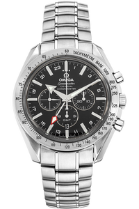Speedmaster Broad Arrow Co-Axial GMT Stainless Steel Automatic