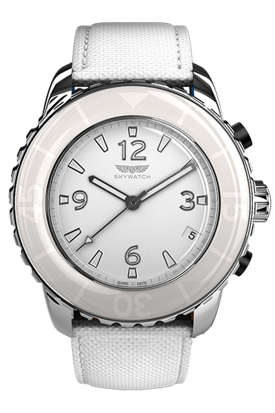 44mm 3-Hand Stainless Steel