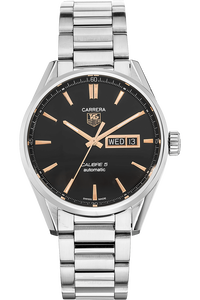 Carrera Calibre 5 Day-Date Stainless Steel Automatic