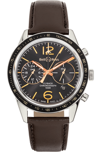 8b1a8ab4b7f Pre-Owned Bell   Ross. BR 126 Sport Heritage GMT   Flyback Stainless Steel  Automatic