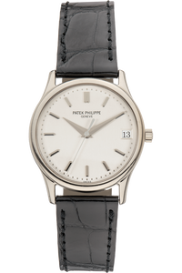 Calatrava Reference 3998 White Gold Automatic