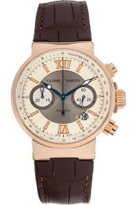 Maxi Marine Chronograph Rose Gold Automatic