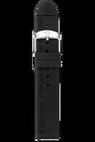 18MM Onyx Silicon Strap