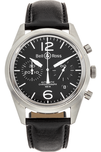 BR 126 Original Black Stainless Steel Automatic