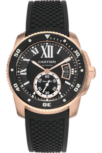 Calibre de Cartier Diver Rose Gold Automatic