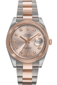 Datejust II Rose Gold and Stainless Steel Automatic