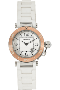 Pasha Seatimer Rose Gold and Stainless Steel Quartz