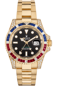 GMT-Master II Yellow Gold Automatic