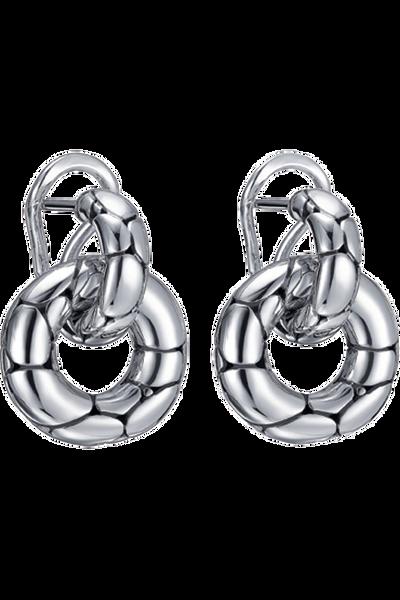 Kali Silver Door Knocker Earrings