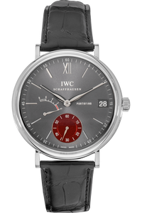 Portofino Hand-Wound Eight Days Tribeca Edition Stainless Steel Manual