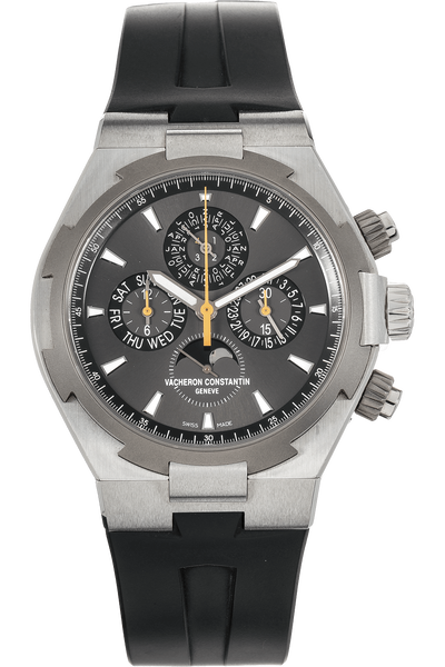 Overseas Perpetual Calendar Chronograph Stainless Steel Automatic