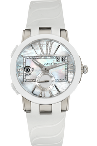 Executive Dual Time Stainless Steel Automatic