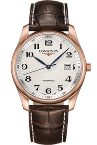 The Longines Master Collection 40mm Alligator Strap