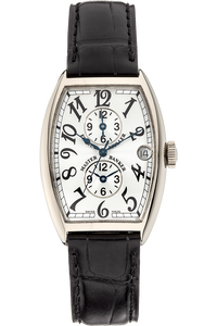 Master Banker White Gold Automatic