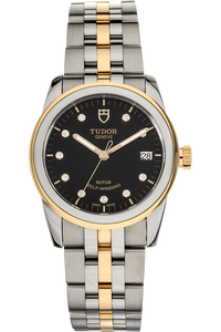 Glamour Date Yellow Gold and Stainless Steel Automatic