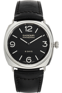 Radiomir Black Seal 8 Days Stainless Steel Manual