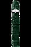 18MM Green Thin Alligator Strap