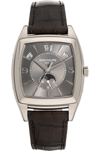Gondolo Annual Calendar Reference 5135 White Gold Automatic