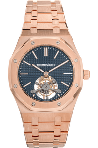 Royal Oak Tourbillon Extra-Thin Rose Gold Manual