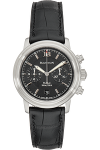 Leman Aqua Lung Flyback Chronograph Stainless Steel Automatic