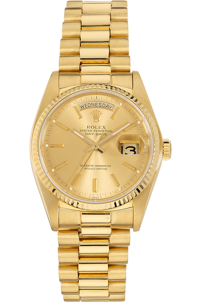 Day-Date Circa 1970's Yellow Gold Automatic