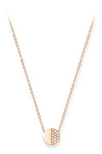 B Dimension Necklace in 18K Rose Gold