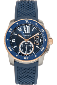 Calibre de Cartier Diver Rose Gold and Stainless Steel Automatic