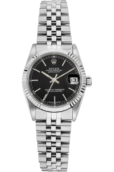 Datejust Circa 1983 White Gold and Stainless Steel Automatic