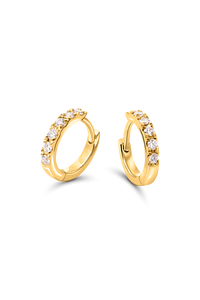 Creole in 18K Yellow Gold