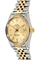 Datejust Circa 1980's Yellow Gold and Stainless Steel Automatic