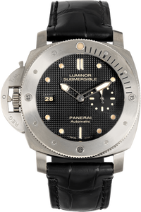 Luminor Submersible 1950 Left-Handed 3 Days Titanium Automatic