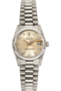 Datejust Circa 1989 White Gold Automatic