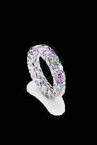 Pastello Wedding Ring in 18K White Gold