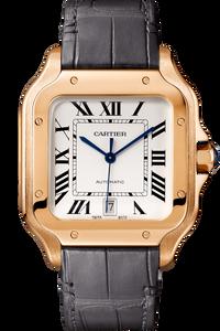 Santos de Cartier Pink Gold, Large
